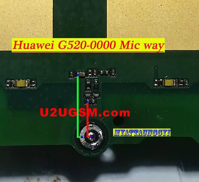 Huawei G520 Mic Problem Solution Microphone Not Working