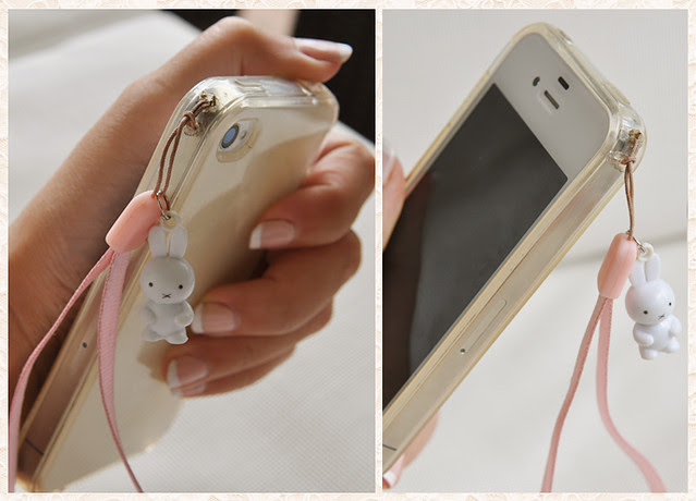 Dear Manon,: How to add cell phone straps and charms to your iPhone