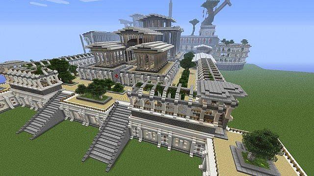 Haven Skylight Garden Of Swords Minecraft Project