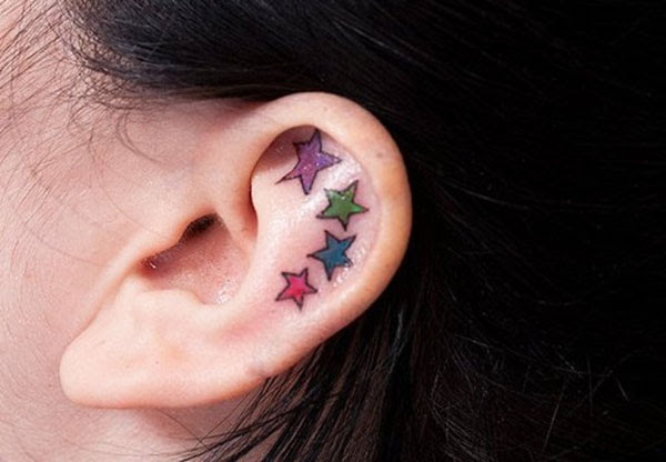 More Information on Ear Stars Tattoo