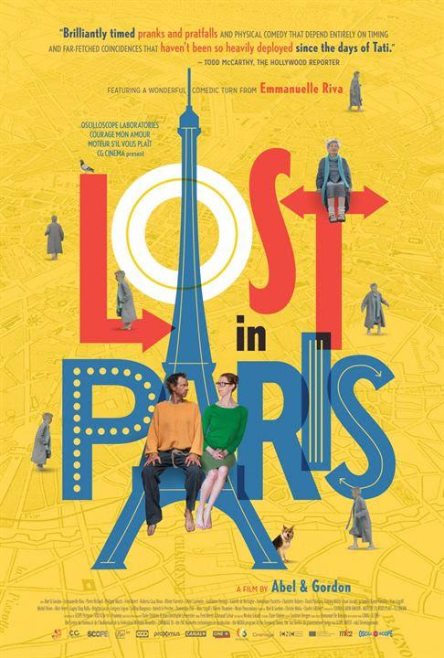 Perdidos em Paris : Poster