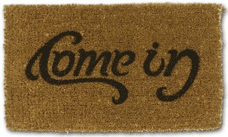 come in doormat illusin