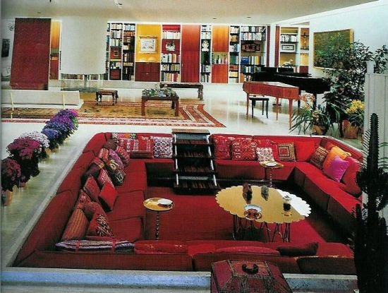 Image Result For Sunken Living Room S