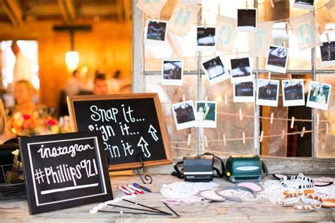 Our polaroid photo booth #weddingphotobooth #polaroid http
