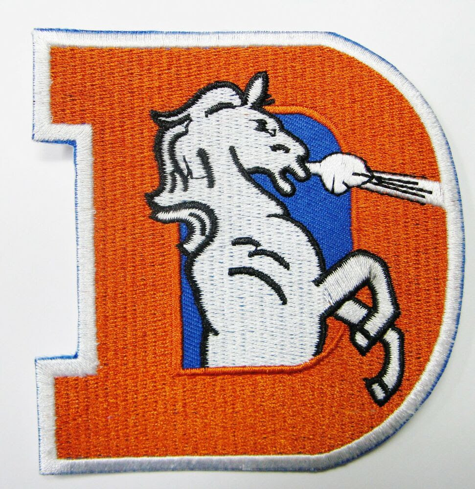 LOT OF 1 NFL DENVER BRONCOS BIG D EMBROIDERED PATCH IRONON TYPE B 21 eBay