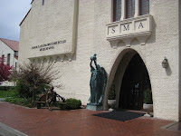 Main entrance to The Springville Museum of Art