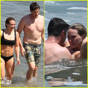 Hilary Duff Flaunts PDA with Ely Sandvik, Bares Hot Bikini Body!