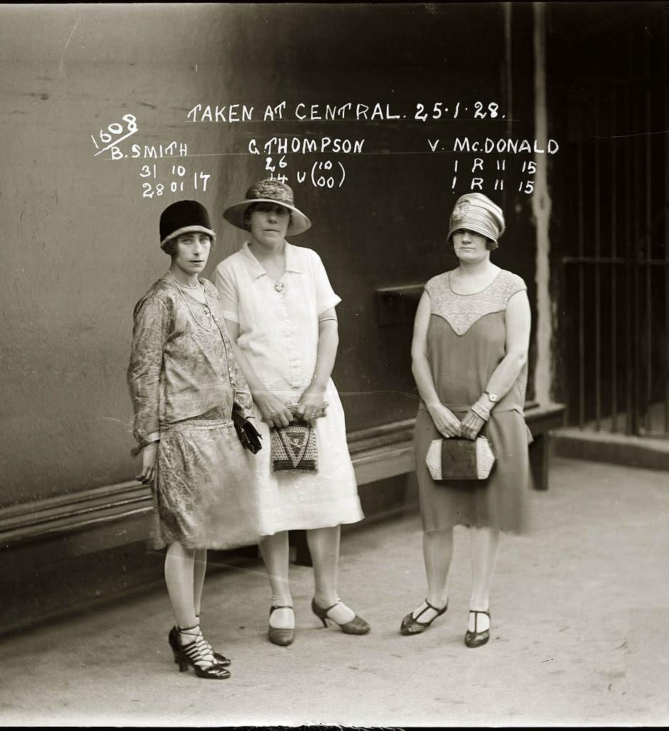 photo police sydney australie mugshot 1920 15 Portraits de criminels australiens dans les années 1920  photo photographie histoire featured art