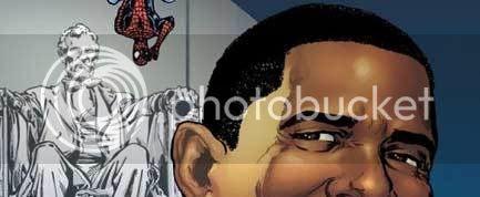 Obama e Aranha