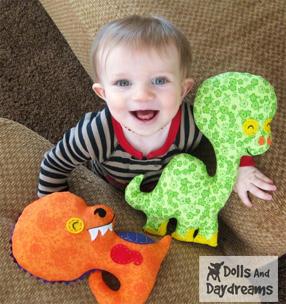 dino t_rex dinosaur sewing patterns