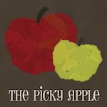 The Picky Apple Button