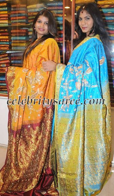 Kancheepuram Bridal Saris by Shwetha Saree Mandir   Saree