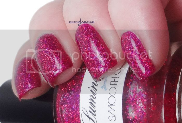 xoxoJen's swatch of Lumina Lacquer - Smooth Operator