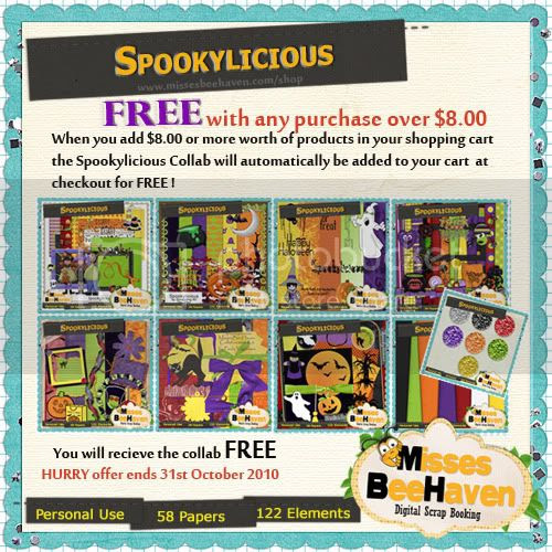 Halloween Spookylicious Collab Kit