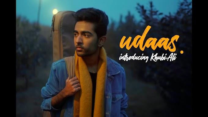 Udaas Lyrics - Khubi Ali