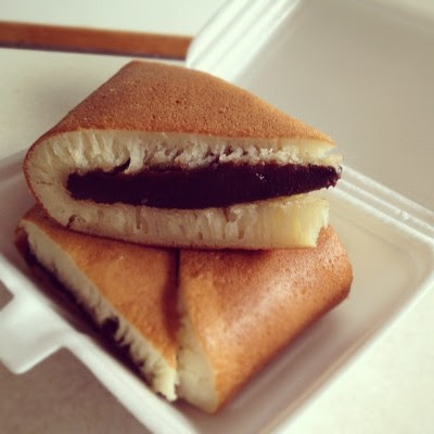 Look at that redbean paste! ZOMG! #love  (Taken with Instagram)