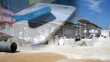 Gesso da construção civil pode ser reciclado indefinidamente