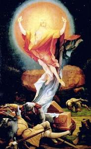 Résurrection - Retable d'Issenheim - Grünewald