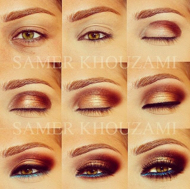 Make up tutorial by Lebanese make up artist Samer Khouzami