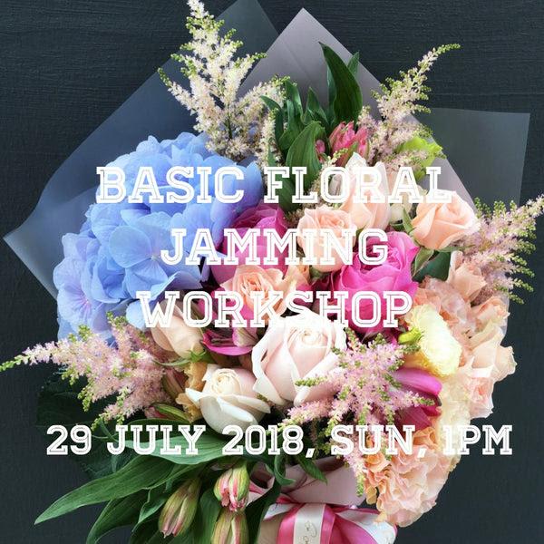 Basic Bouquet Vase Workshop Yi Lian Ng Floral Atelier