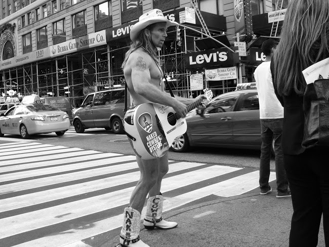 Naked Cowboy, Times Square