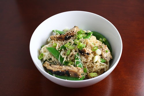 Asian Chicken Salad with Noodles