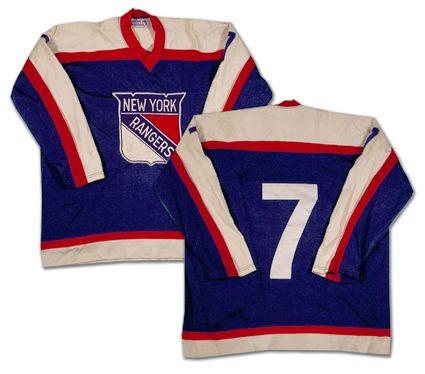 New York Rangers 76-77 jersey