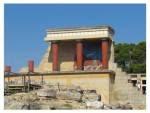 ruins in crete