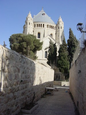 Dormition Church, situated on the modern