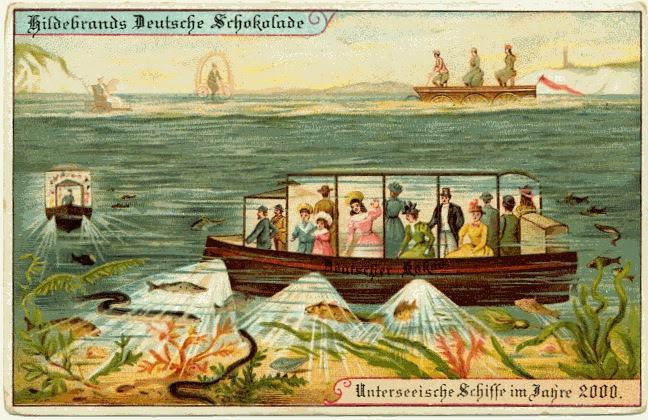 carte postale 2000 futur 08 En 1900, des cartes postales imaginent lan 2000  histoire featured design