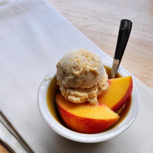 Peaches Honey and Cream Ice Cream 2