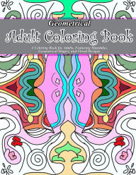 Geometrical Adult Coloring Book