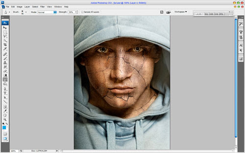 Adding Texture to the Skin image 9