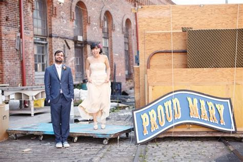 Unique, Nautical Chic Navy Yard Wedding in Brooklyn