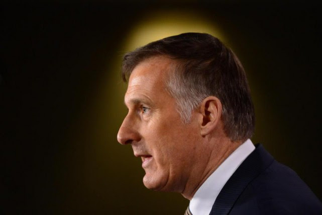Maxime Bernier consacre l'essentiel de ses efforts de sa... (Photo archives La Presse canadienne, Sean Kilpatrick)