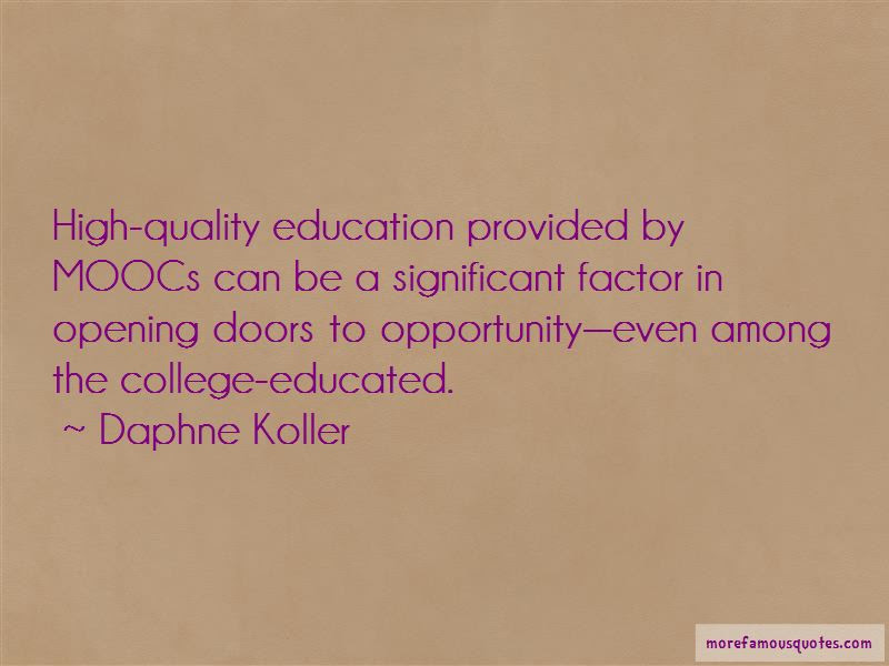 Quotes About Opening Doors Of Opportunity Top 4 Opening Doors Of