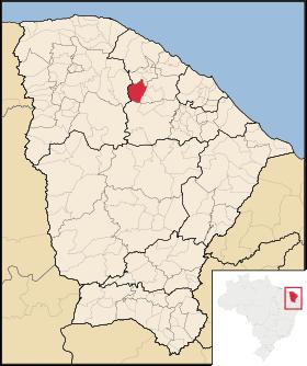 Localização de Tejuçuoca