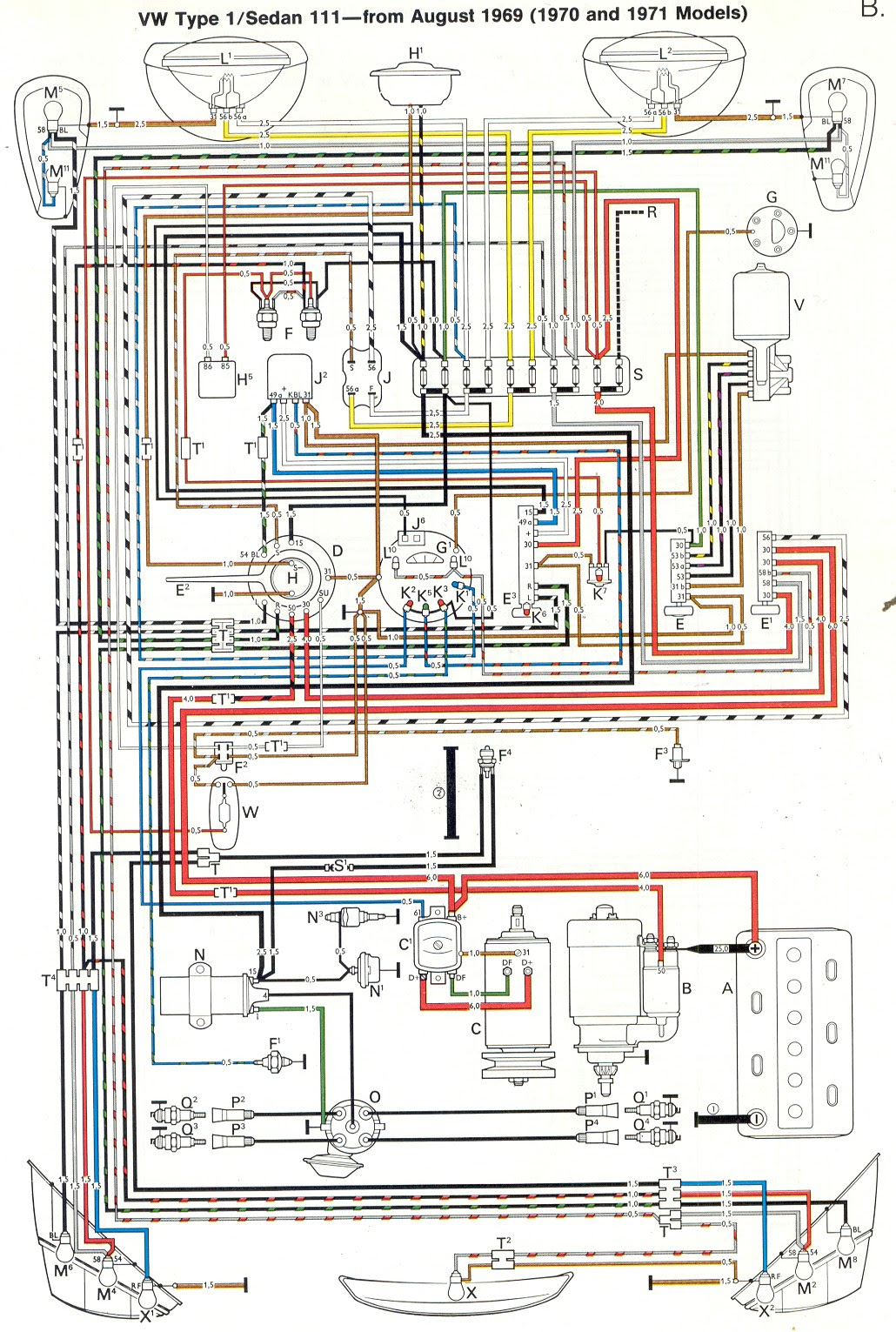 Diagram Wiring Diagram For 1969 Vw Beetle Full Version Hd Quality Vw Beetle Uwiringx18 Locandadossello It