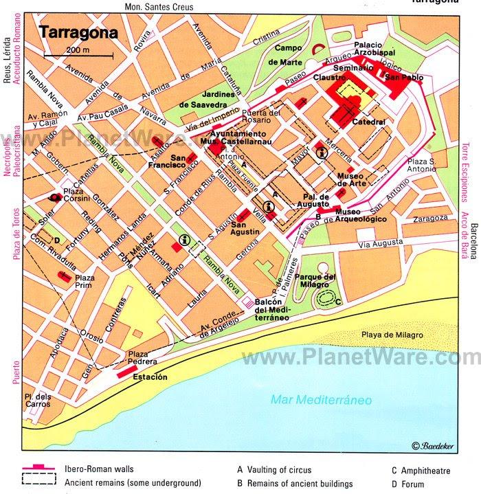 Tarragona Spain Cruise Port of Call