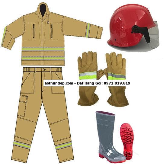 quần áo chữa cháy việt nam