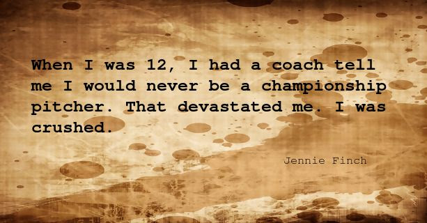 Quotes Of Jennie Finch