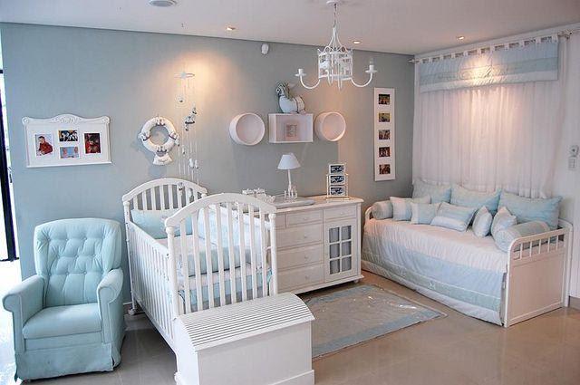 Resultado de imagem para quartos de bebe decorados menino