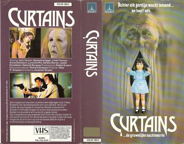 Curtains (VHS Box Art)