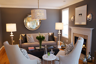 heather garrett design contemporary living room - Living Room Colour Schemes 2011