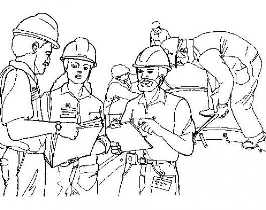 Ingenieros Civiles Dibujo De Arquitectos E Ingenieros Para Pintar Y
