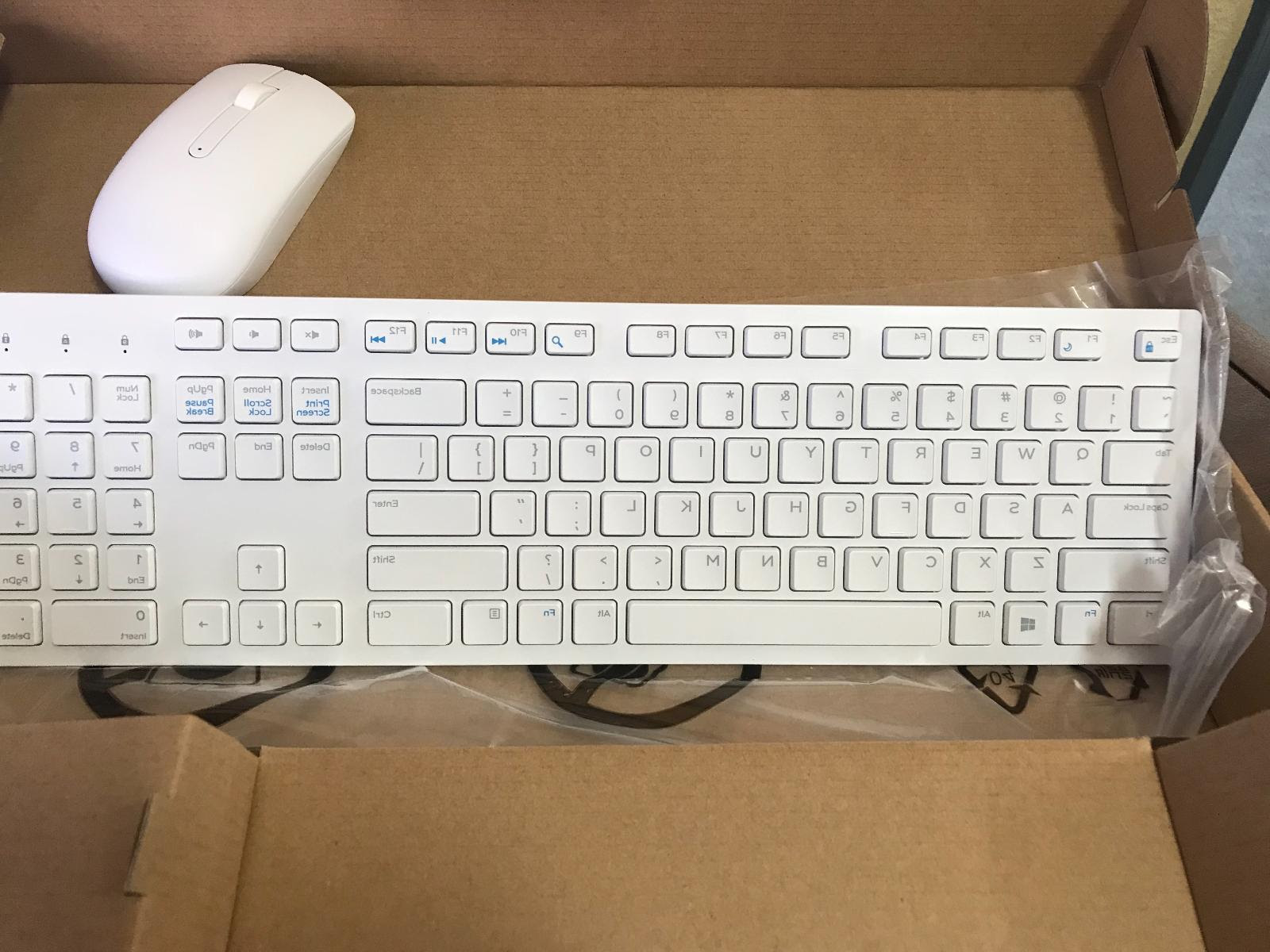 5t11r Dell Wireless Keyboard Mouse Receiver White