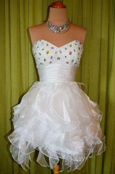 short white puffy wedding dresses looks   B2B Fashion