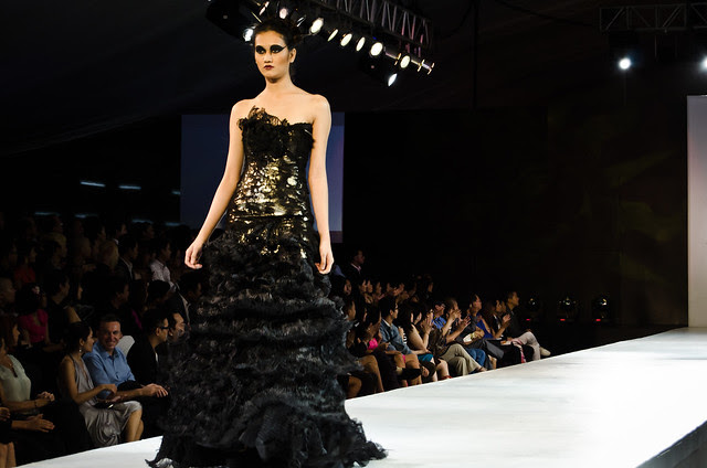 One of Cheetah's designs for The Final Runway