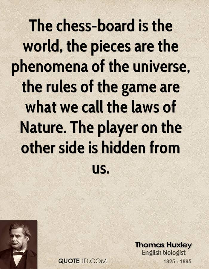 Thomas Huxley Nature Quotes Quotehd