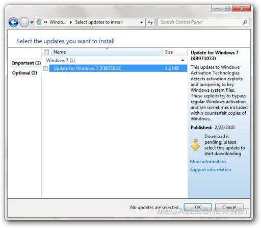 Windows 7 Anti-Piracy Update Is Now Live, Pirates Can ...